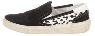 Saint Laurent Baby Cat Slip-On Sneakers