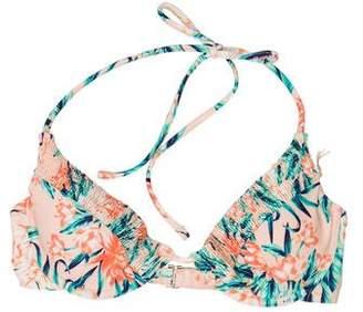 Tori Praver Printed Halter Swim Top w/ Tags