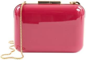 Elie Saab Pink Plastic Clutch Bag