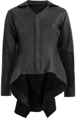 Yohji Yamamoto lambskin jacket