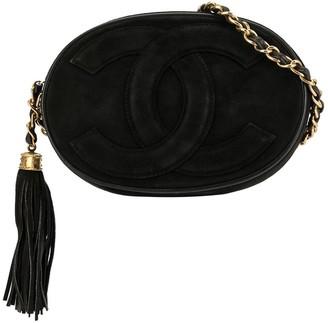 Chanel Pre-Owned 1990 CC tassel shoulder bag