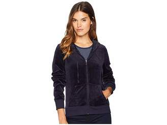 Juicy Couture Track Velour Juicy Gothic Studs Robertson Jacket Women's Clothing