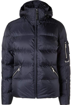 Bogner Steen Quilted Ripstop Hooded Down Ski Jacket
