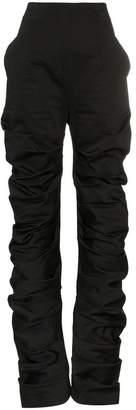 Aleksandre Akhalkatsishvili High Waisted Cotton Trousers