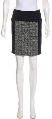 Marissa Webb Wool-Paneled Mini Skirt