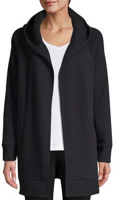 ST. JOHN'S BAY SJB ACTIVE Active Fleece Lightweight Jacket