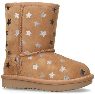 UGG Suede Classic Short Star Boots