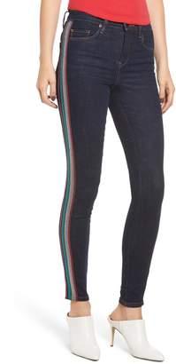 Blank NYC BLANKNYC The Bond Metallic Side Stripe Skinny Jeans