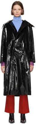 Toga Black Enamel Coating Coat