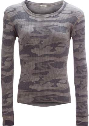 Monrow Camo Long-Sleeve Thermal - Women's