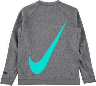 Nike Tech Fleece Crew 'Big Swoosh x Atmos' - Grey