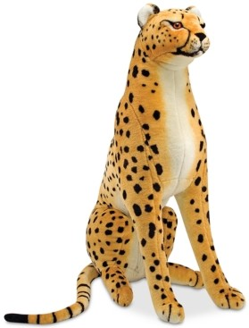 Melissa & Doug Plush Lifelike Giant Cheetah