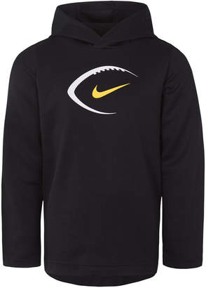 Nike Toddler Boys Dri-fit Football Graphic-Print Hooded Sweatshirt
