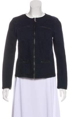 Lauren Ralph Lauren Collarless Lightweight Jacket