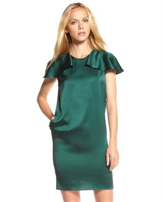 Phillip Lim 3.1 Capelet Shift Dress