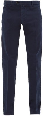 J.w.brine J.W. Brine J.w. Brine - James Cotton Blend Chinos - Mens - Navy