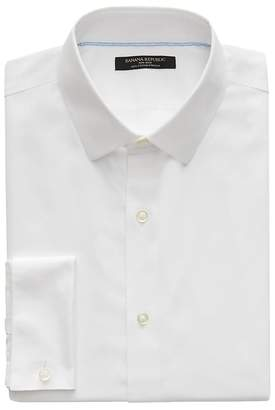 Banana Republic Grant Slim-Fit Non-Iron French Cuff Shirt