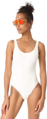 Solid & Striped The Anne Marie One Piece $158 thestylecure.com