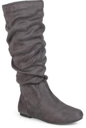 Brinley Co. Women's Knee-High Slouch Microsuede Boot