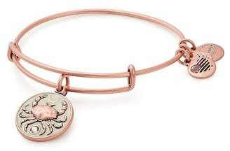 Alex and Ani Color Infusion Crab Charm Wire Adjustable Bracelet