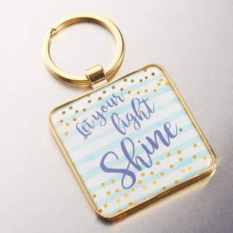 Christian Art Gifts Keyring Metal Let Your Light S (Other)