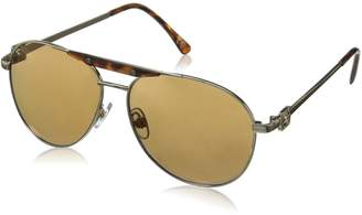 Foster Grant Women's Gold Coast 6 Aviator Sunglasses 58.5 mm