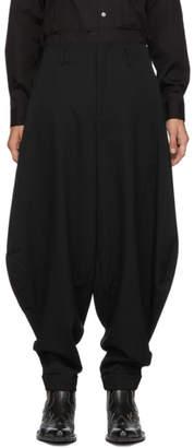 Comme des Garcons Black Balloon Trousers