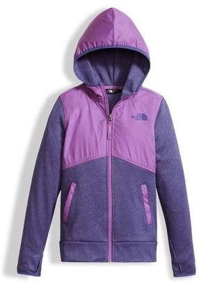 The North Face Kickin' It Two-Tone Zip Hoodie, Girls' Size XXS-XL