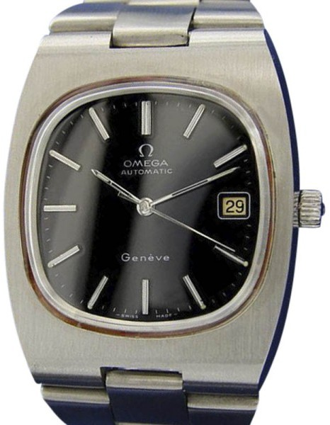 Omega Omega Geneve Automatic Stainless Steel Vintage 36mm Mens Watch