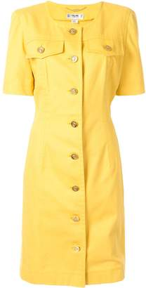 Celine Pre-Owned logo button dress