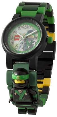 Lego Ninjago Movie 8021100 Lloyd Kids Minifigure Link Buildable Watch | /black| plastic | 28mm case diameter| analog quartz | boy girl | official