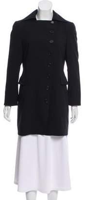 Akris Punto Casual Button-Up Coat