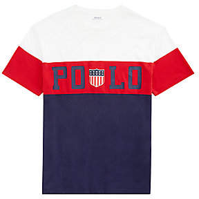 5a0c20e0 Polo Ralph Lauren Men's Custom Slim-Fit Graphic Tee