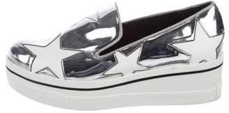 Stella McCartney Binx Star Flatform Slip-On Sneakers