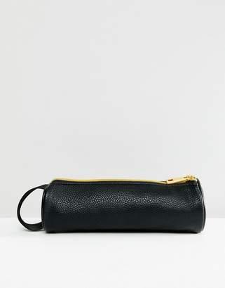 Mi-Pac Tumbled Pencil Case in Black