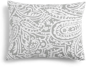 """Charter Club Damask Designs Paisley 14"""" x 18"""" Decorative Pillow, Created for Macy's Bedding"""