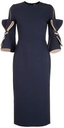 Roksanda Lavete Bow Sleeve Dress