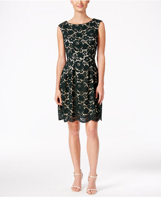 Vince Camuto Lace A-Line Dress $148 thestylecure.com