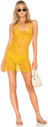 Lovers + Friends Lou Crochet Dress