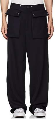 J.W.Anderson Men's Wool Wide-Leg Trousers