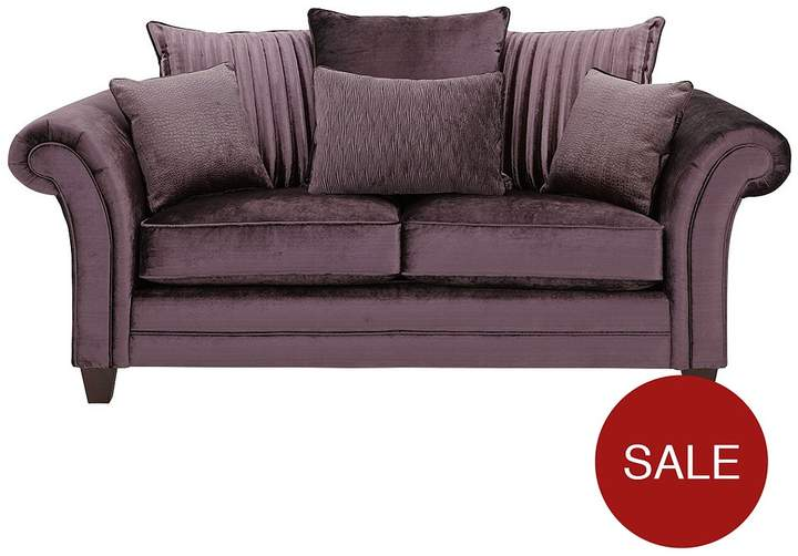 Luxe Collection Glamour 2-Seater Fabric Sofa