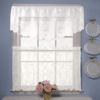 Petite Fleur Saturday Knight Ltd. Ascot Window Valance - 56'' x 20''