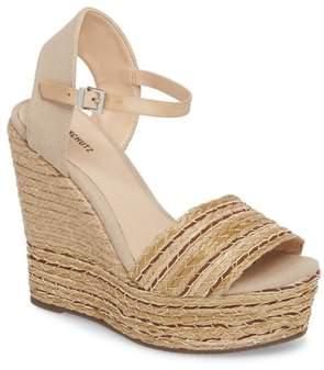 Schutz Rilark Platform Wedge Sandal