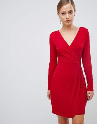 French Connection slinky wrap dress