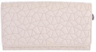 AkrisAkris Quilted Leather Wallet