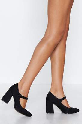 Nasty Gal Marry Me Mary Jane Heel