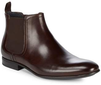 Kenneth Cole Men's Slip-On Leather Chelsea Boots