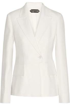 Tom Ford Double-Breasted Wool-Blend Blazer