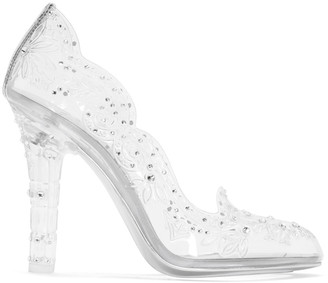 Dolce & Gabbana Clear Cinderella Heels $1,795 thestylecure.com