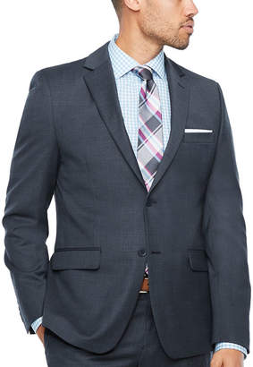 COLLECTION Collection by Michael Strahan Pattern Slim Fit Stretch Suit Jacket-Slim